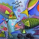 pretty fishes by Karin Zeller