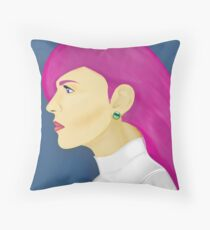 Painting Series - Jessie  Throw Pillow