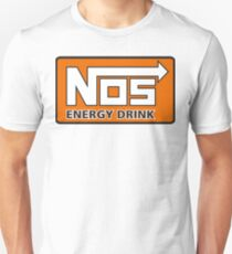 Nos Energy Drink Logo (Nitrous Oxide Systems)  T-Shirt