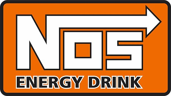 quotnos energy drink logo nitrous oxide systems quot posters