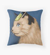 Painting Series - Meowth Throw Pillow