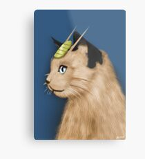 Painting Series - Meowth Metal Print