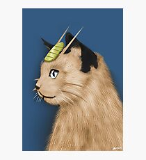 Painting Series - Meowth Photographic Print