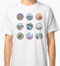 Round Tasmania Vignettes Classic T-Shirt