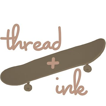 thread+ink #4 by joshuathorpe99