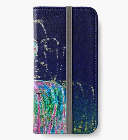 Neon Budha  iPhone Wallet