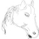 Copy/Horses head ornament -(050716)- Digital artwork: MS Paint by paulramnora