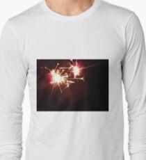 sparkler macro 2  Long Sleeve T-Shirt