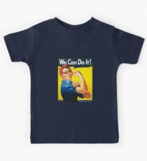 We Can Do It - Rosie the Riveter Kids Clothes