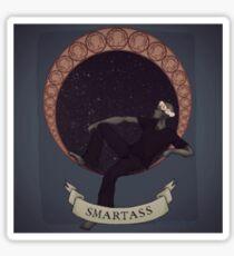 Smartass Sticker