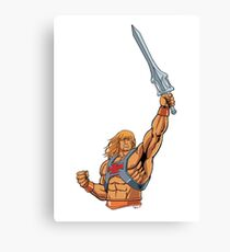 master of the universe sword Canvas Print