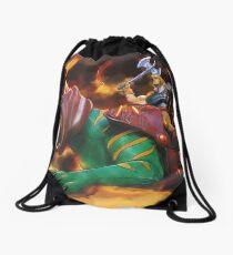 Battlecat and he-man Drawstring Bag
