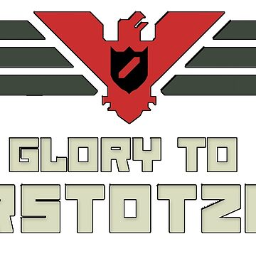 Glory to Arstotzka - Papers Please by CM7Designs