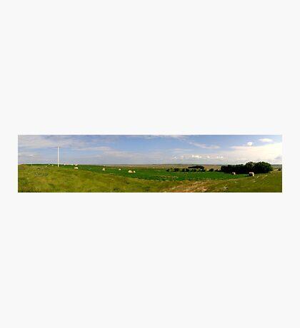 Prairie Panorama, Saskatchewan II Photographic Print