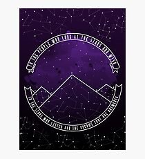Look At The Stars And Wish | Night Court Photographic Print