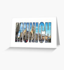 Munich Greeting Card