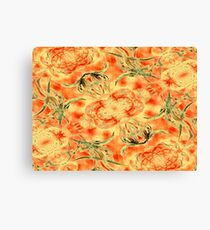 Blossoms In My Garden Canvas Print