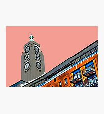 Oxo Tower sunset! Photographic Print