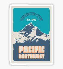 Pacific Northwest. Sticker