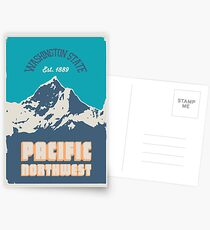 Pacific Northwest. Postcards