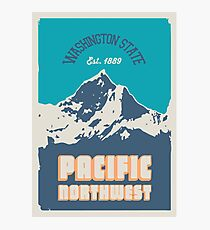 Pacific Northwest. Photographic Print