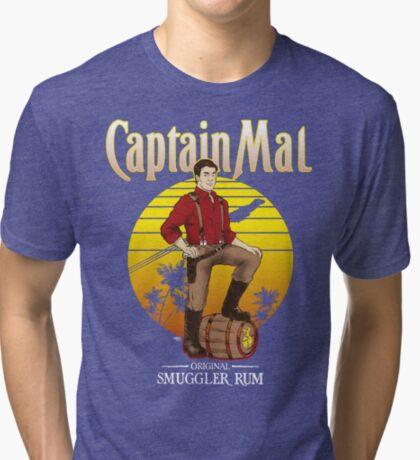 Captain Mal Smuggler Rum Tri-blend T-Shirt