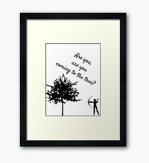 The Hunger Games, The Hanging Tree Framed Print