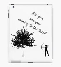 The Hunger Games, The Hanging Tree iPad Case/Skin