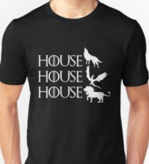Game of Thrones - Stark - Targaryen - Lannister T-Shirt