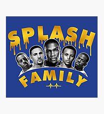 Splash Family Photographic Print