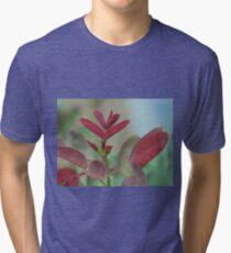 Flower in Macro Tri-blend T-Shirt