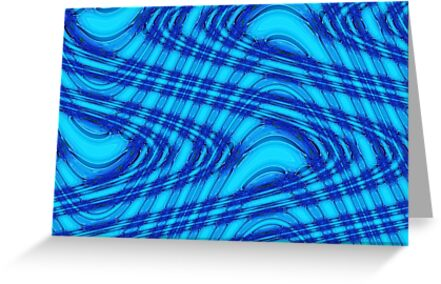 Waves of Blue by Marie Sharp