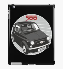 Fiat 500F black iPad Case/Skin