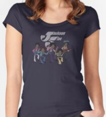 Jackson Five Women's Fitted Scoop T-Shirt