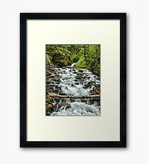 Bridal Veil Stream Framed Print