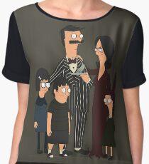 Addams' Family Burgers Women's Chiffon Top