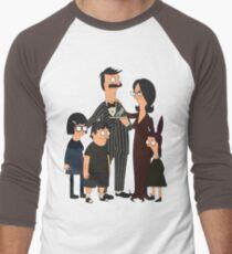 Addams' Family Burgers Men's Baseball ¾ T-Shirt
