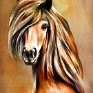 Portrait of a horse. by andy551