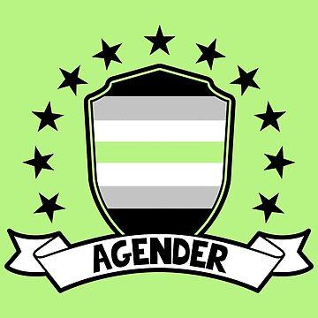 Agender Shield by ace-oddity