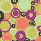 Retro Circles by T-ShirtsGifts