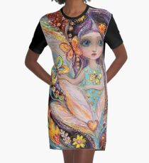 My little fairy Pearlie Graphic T-Shirt Dress