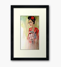 Asian Grace  Framed Print