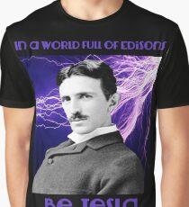 Nikola Tesla two Graphic T-Shirt
