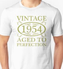 Vintage 1954 Birth Year T-Shirt
