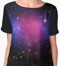 Galaxy Cluster MACS J0025.4-1222 Astronomy Image Chiffon Top