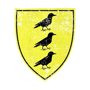 Borch Three Jackdaws Coat of Arms - Witcher by Nicoberson