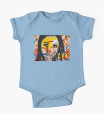 The unseen emotions of her innocence One Piece - Short Sleeve