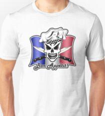 Chef Skull of France 2: Bon Appetit! Unisex T-Shirt