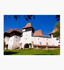 Viscri Fortified Church, Transylvania, UNESCO heritage Photographic Print