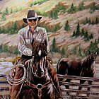The $12.00 Resistol And Pecos by Susan Bergstrom